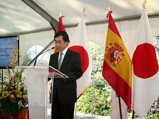 Excmo Sr. Satoru Satoh. Embajador de Japón