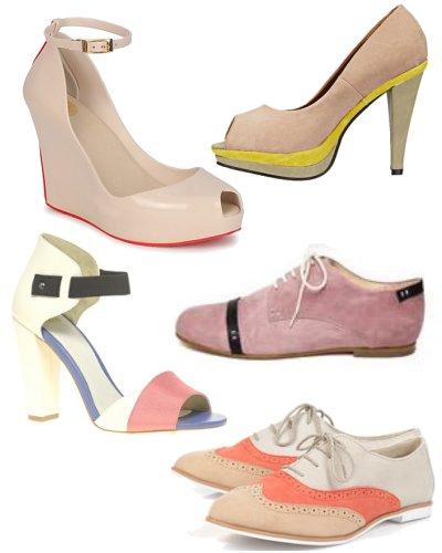 chaussures femmes rose poudre. Black Bedroom Furniture Sets. Home Design Ideas