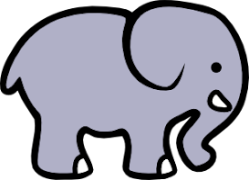 The Elephant on Facebook