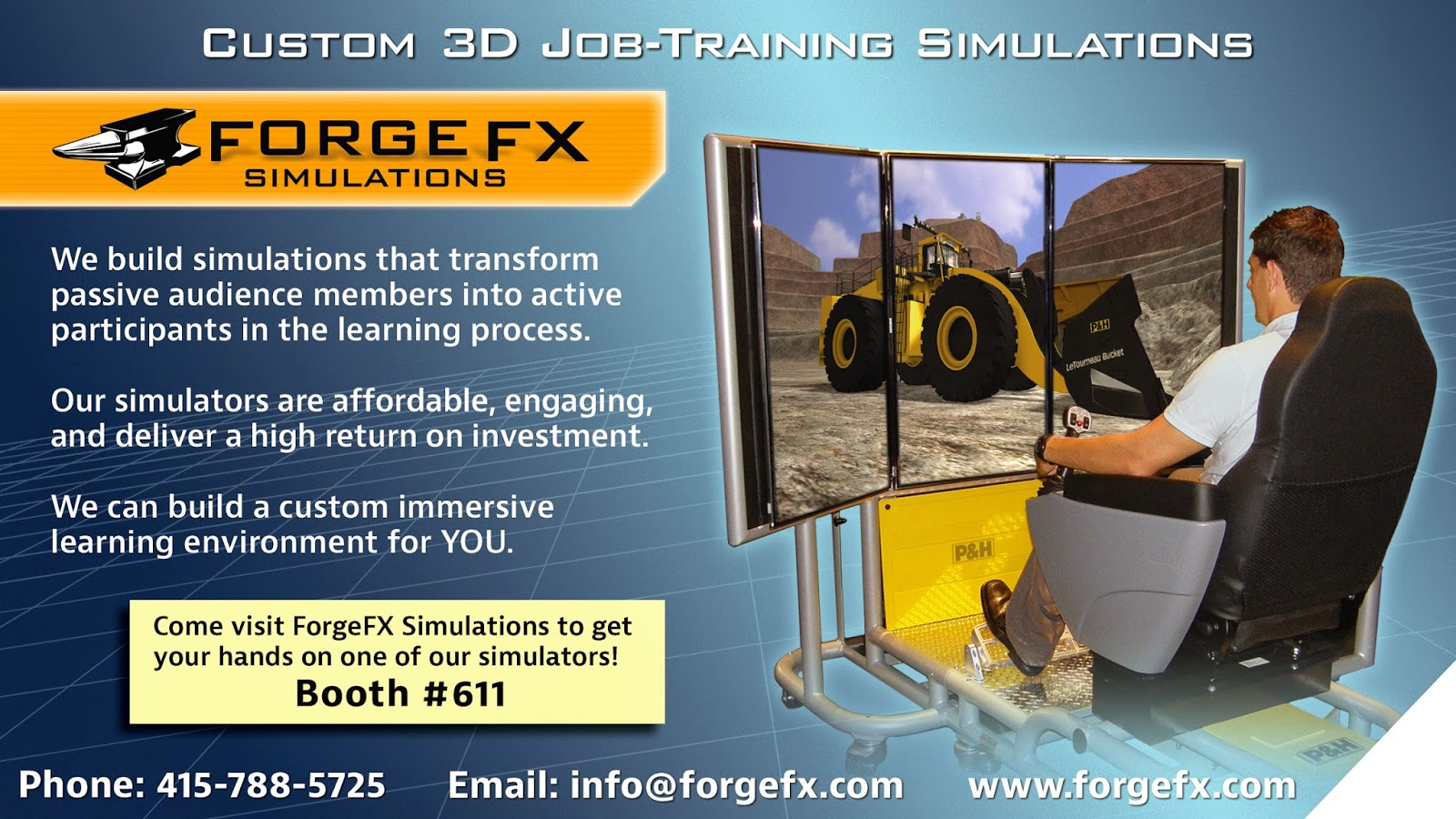 ForgeFX Custom 3D Job-Training Simulations