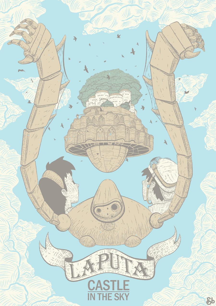Studio Ghibli Merchandise & Hoodies, T-shirts Official ...