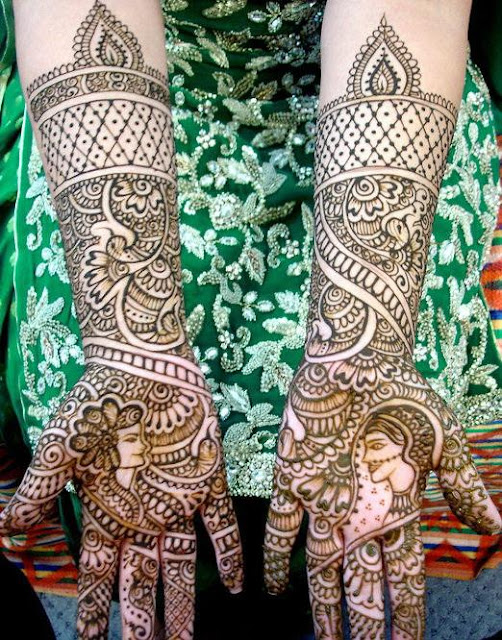 Buy Indian latest mehndi designs for bridals picture trends