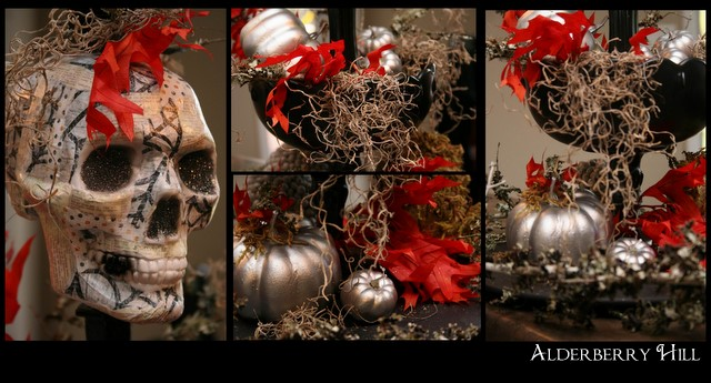 American+Crafter+Round+1 Ghoulish Centerpiece