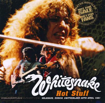 Whitesnake: Hot Stuff. Volkhaus, Zurich, Switzerland ...