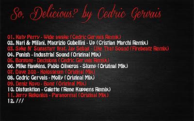 2012.07.13 - SO, DELICIOUS? BY CEDRIC GERVAIS So+Delicious+by+Cedric+Gervais