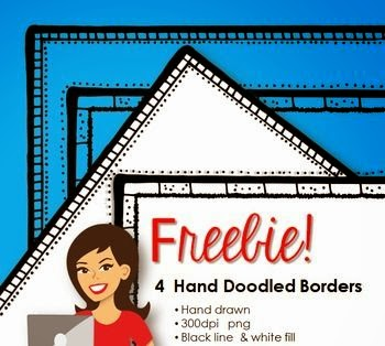 Free Page Borders by Lindy du Plessis