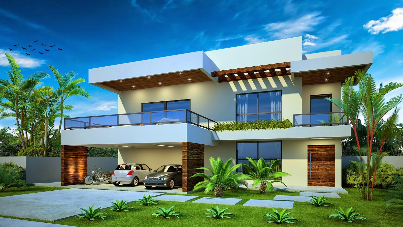 Plantas de casas modelos de casas projetos online for Estilos para casas