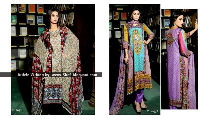 Be the QUEEN with Sitara Queen Lawn 2015