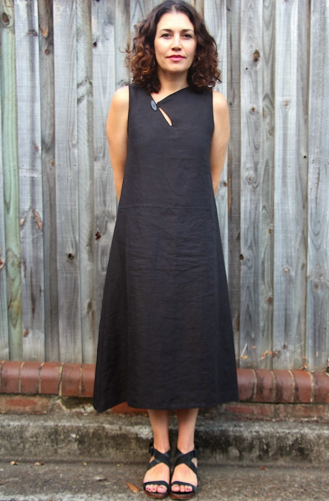 how to cut and sew a dress for beginners