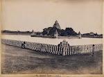 The+Sacred+Tank+and+Temple+-+Madurai,+Tamil+Nadu,++1898