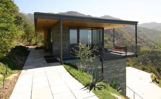 Casas minimalistas y modernas enero 2012 - Casas con estructura metalica ...