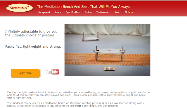 Kindseat Meditation Seat and Bench Main web page _ Revised
