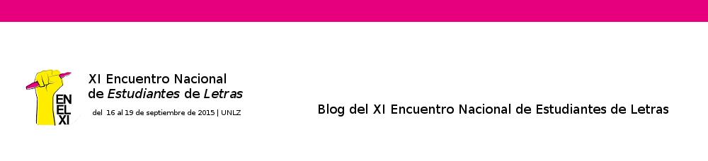 XI Encuentro Nacional de Estudiantes de Letras