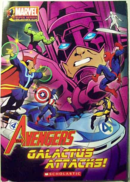 Avengers Galactus The ...