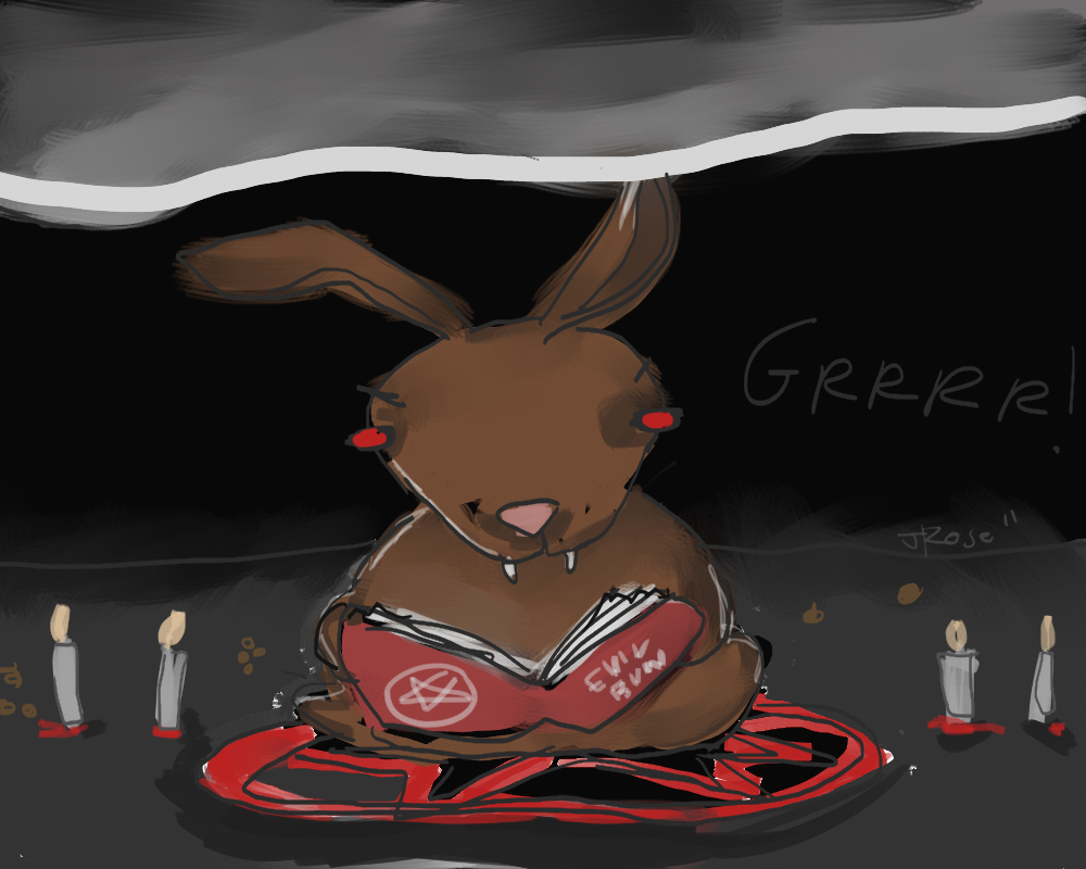 Satanic rabbit