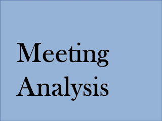 SOME ASSEMBLY REQUIRED: Business Analysis for Meetings