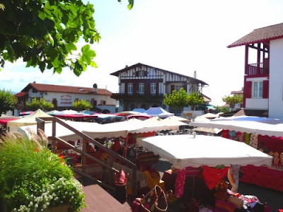 marché de Bidart  place de la Mairie