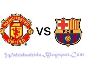 Prediksi Skor Manchester United vs Barcelona 9 Agustus 2012