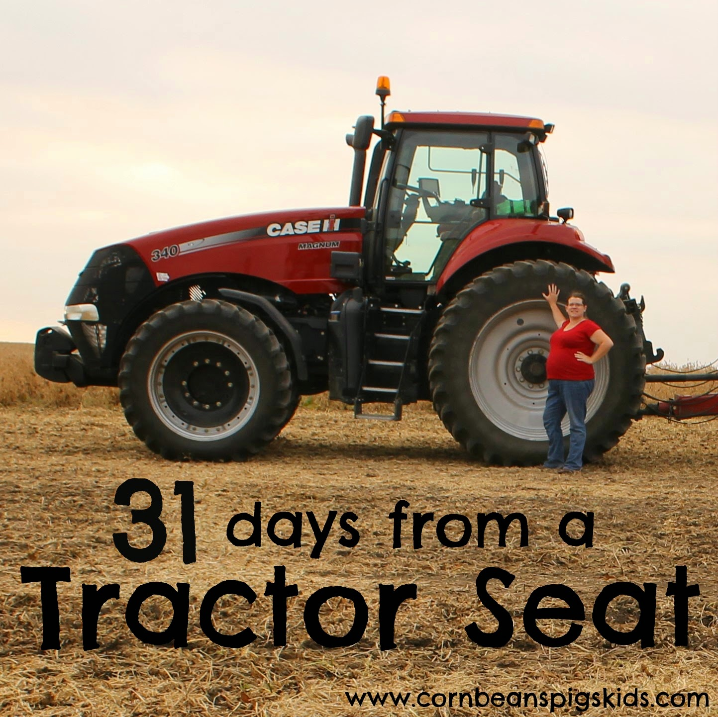 31 Days from a Tractor Seat - A Little Dirt Never Hurt