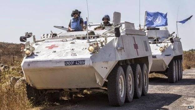 Al Nusra oo qafaalatay Askartii UN-ka ee Siiriya