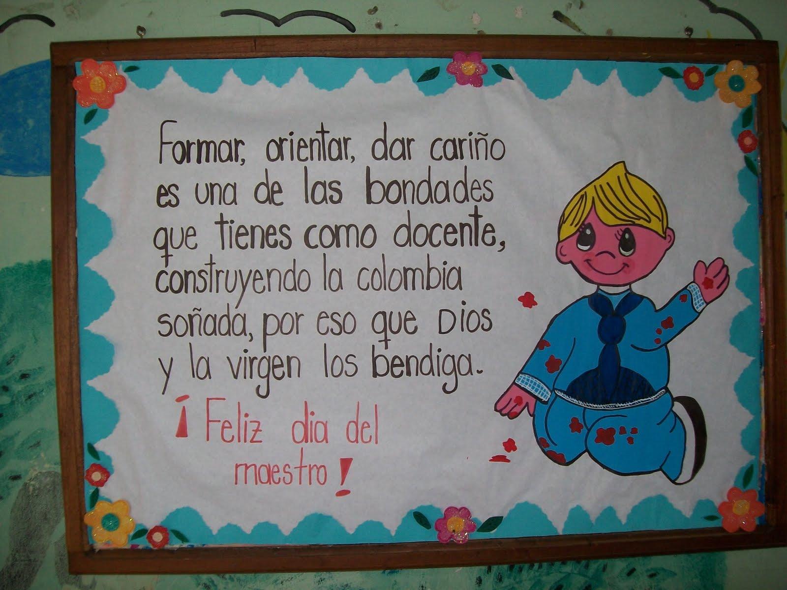 CARTELERAS ALUSIVAS AL MES DE MAYO.