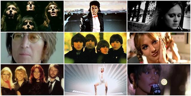 A lista dos dez singles favoritos do Reino Unido pela Official Charts Company