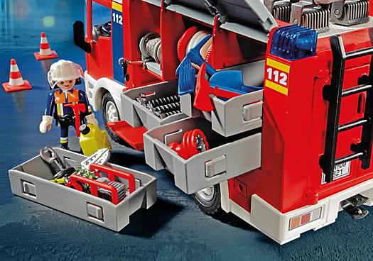 Dioramas playmobil playmobil ref 4821 boite fourgon d - Playmobil de pompier ...
