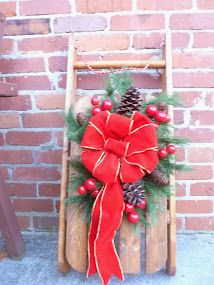 DIY Decorative Sled