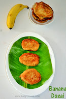 Banana Dosa | Chef Venkatesh Bhat Recipes - Recipe #4