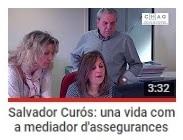 Salvador Curós, una vida com a mediador d'assegurances