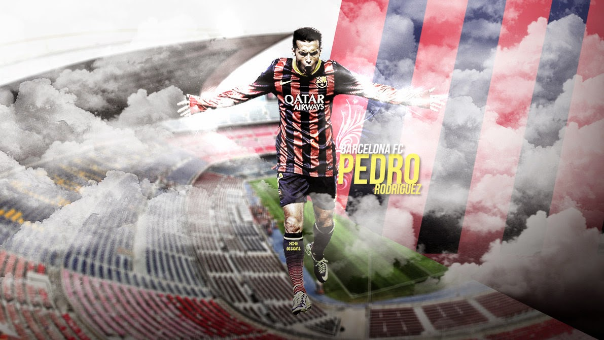 Pedro Rodriguez Fc Barcelona HD Wallpaper