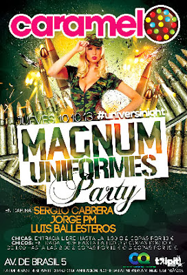 Magnum Uniformes Party en Caramelo