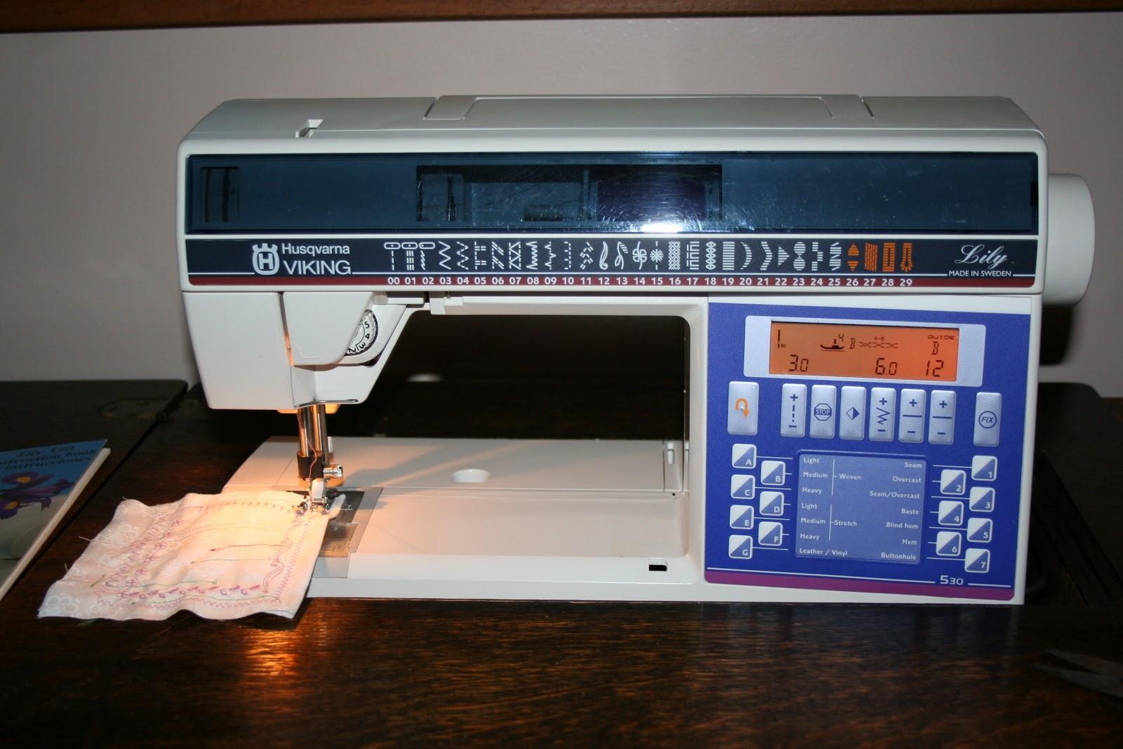 husqvarna viking 500 computer sewing machine