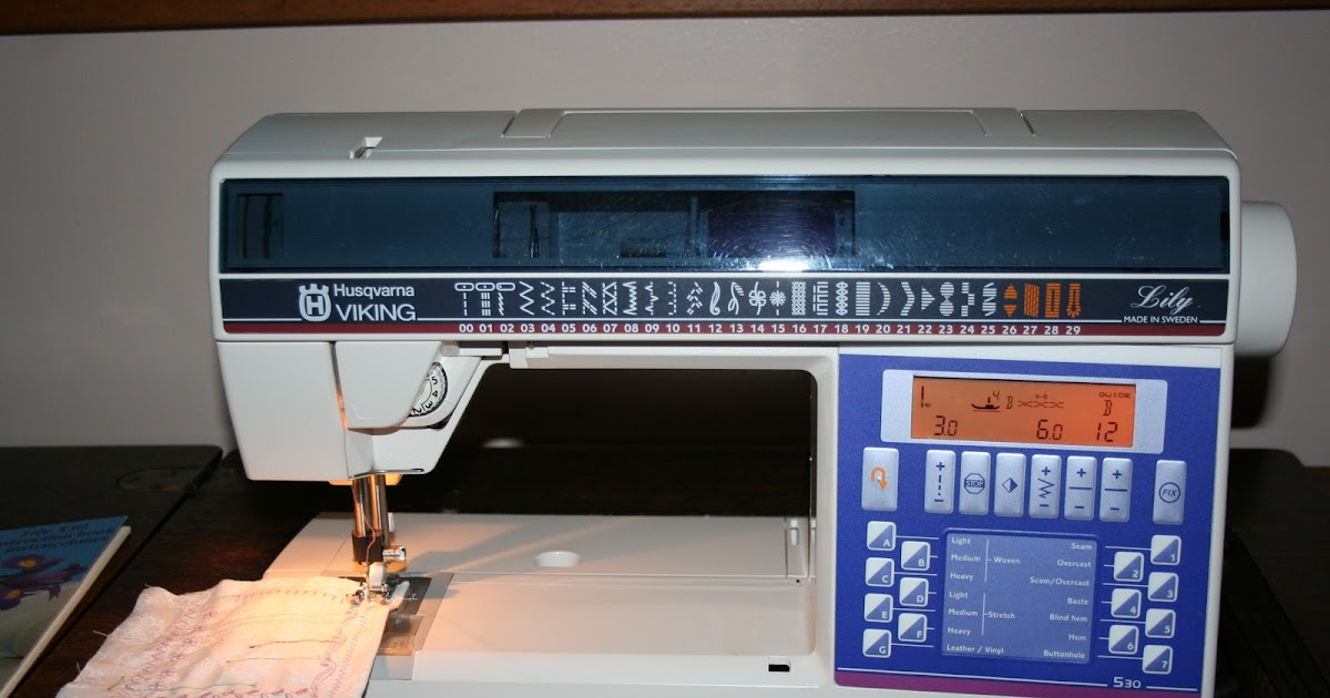 Tammy's Craft Emporium Husqvarna 40 Lily Inspiration Husqvarna Sewing Machines Calgary