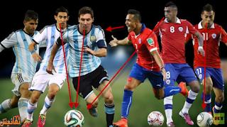 بث مباشر تشيلي والارجنتين اليوم