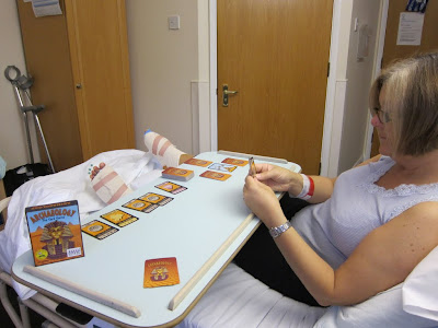 Playing Archaeology in hospital