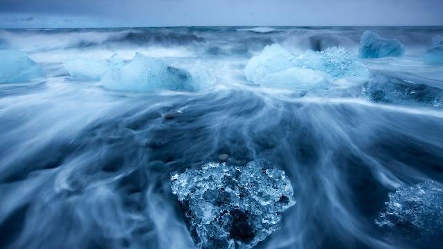 Arctic Icy Sea Landscape