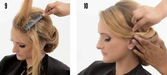 Como hacer un peinado recogido de noche