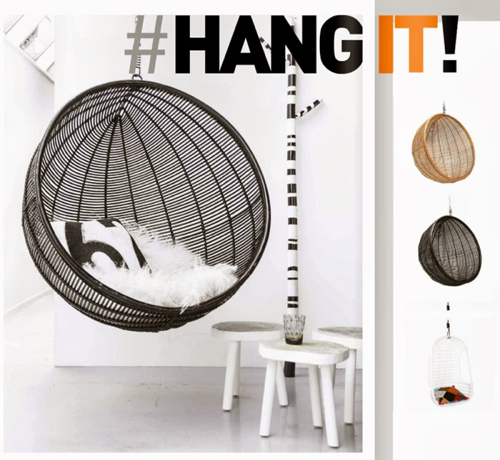 hang ball  from  © HK Living | photo Paulina Arcklin  | all rights reserved