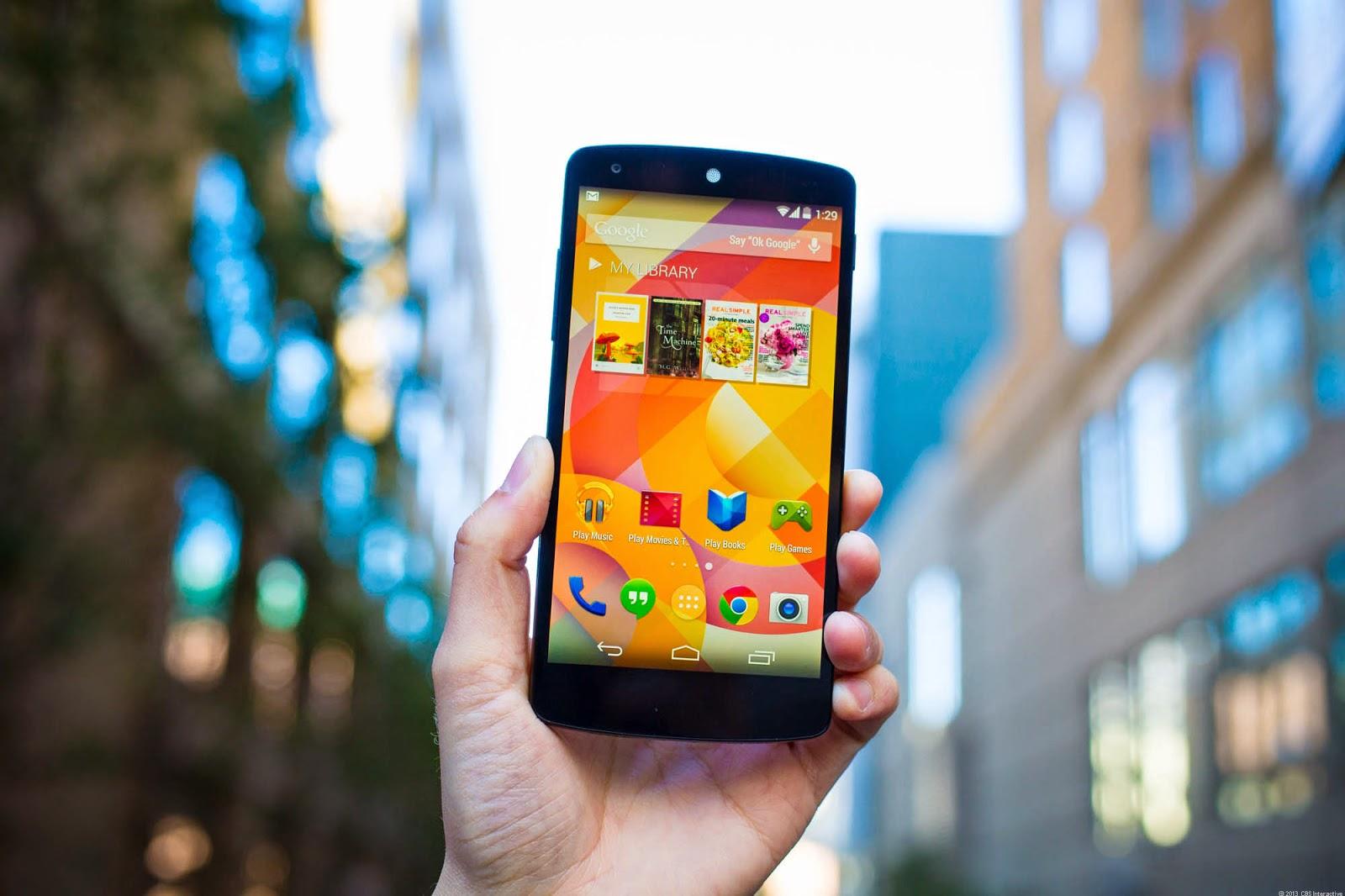 Google's LG Nexus 5