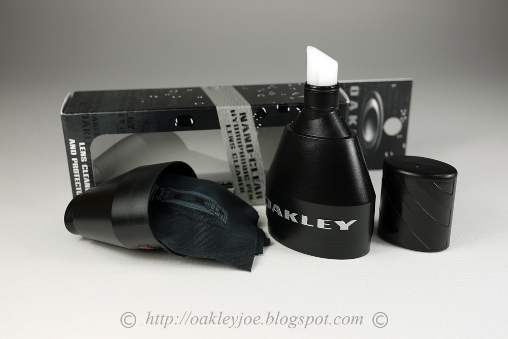 oakley nano clear cleaner