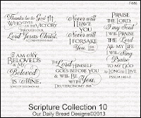 Our Daily Bread designs Scripture Collection 10