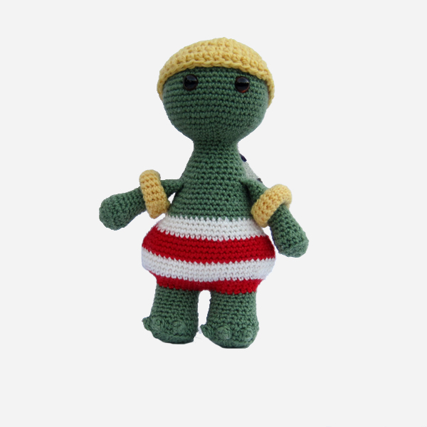 Beach Turtle Amigurumi Crochet Pattern