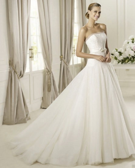 Fashionstrendswomen pronovias bridal dresses and for How much does wedding dress cost