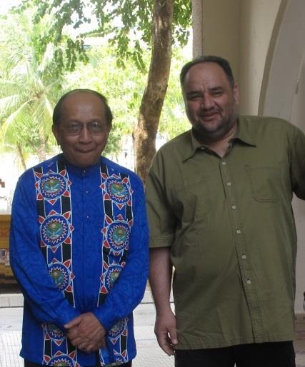 د. رشيد الطوخي مع رئيس يتيم وزير التعليم العالي الماليزي
