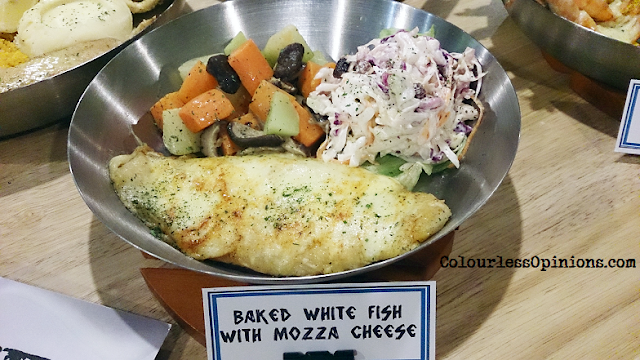 Fish & Co Malaysia Baked White Fish with Mozza Cheese