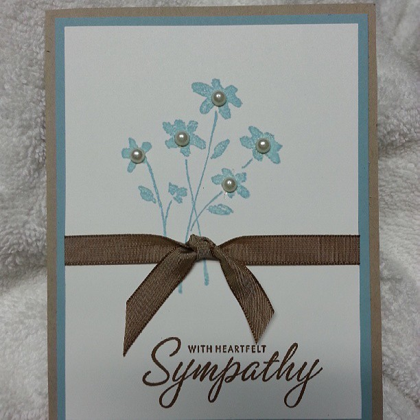 Sympathy Card Ideas To Make Part - 30: ... Make Sympathy Cards. Iu0027m Working On A Couple Of Projects Using Some Of  The New Products From The Stampinu0027 Up! Brand New Catalog! If You Donu0027t Have  One, ...