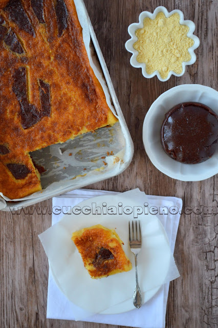 torta cremosa di mais e goiabada