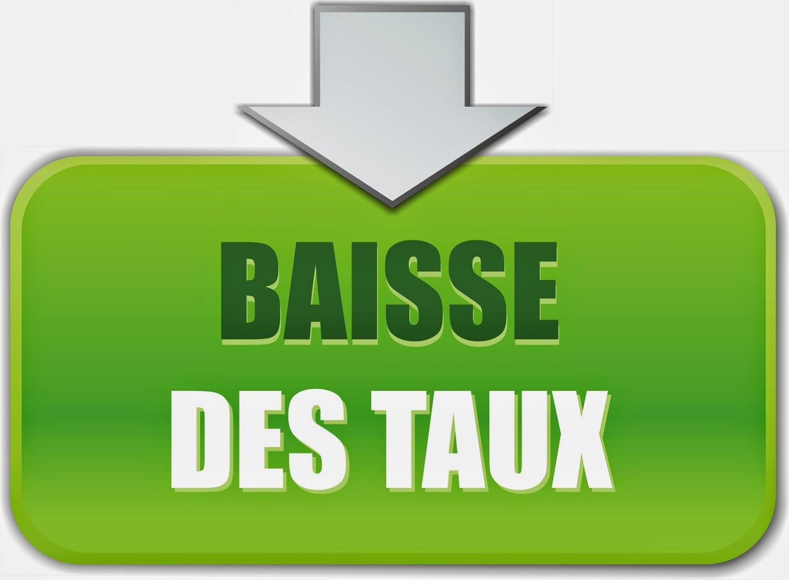 Belvia Immobilier_Baisse taux d'intérêt