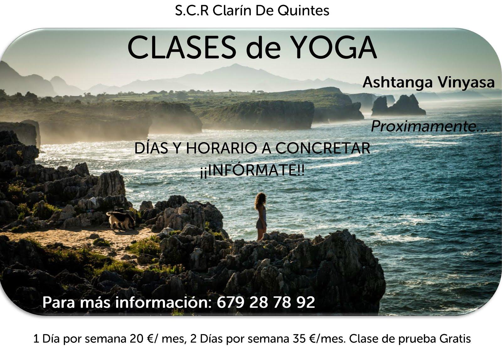 CLASES DE YOGA EN LA SOCIDAD CLARÍN